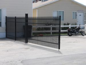 IronGuard Ornamental Iron Gate