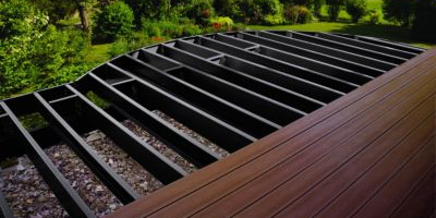 Framing and Deck Drainage Trex Elevations