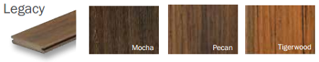 Timbertech Earthwood Evolutions Legacy Colors
