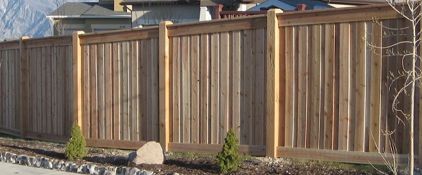 Western red cedar fence and deck supply