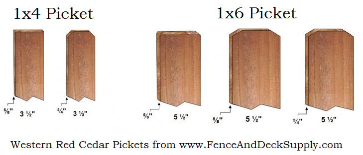 Western Red Cedar Fence Fence And Deck Supply