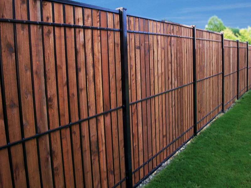 Steel for Fortress fence design