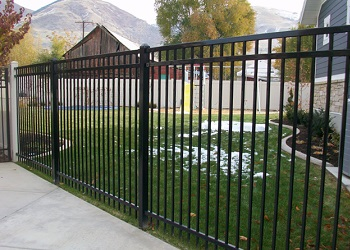 Fortress Ornamental Iron Fence Gallery