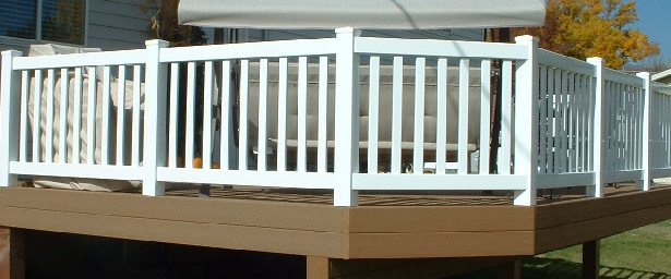 Vinyl Low Maintenance Railing