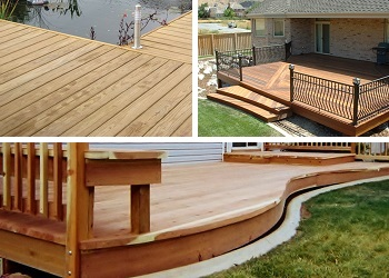 Wood Decking Gallery