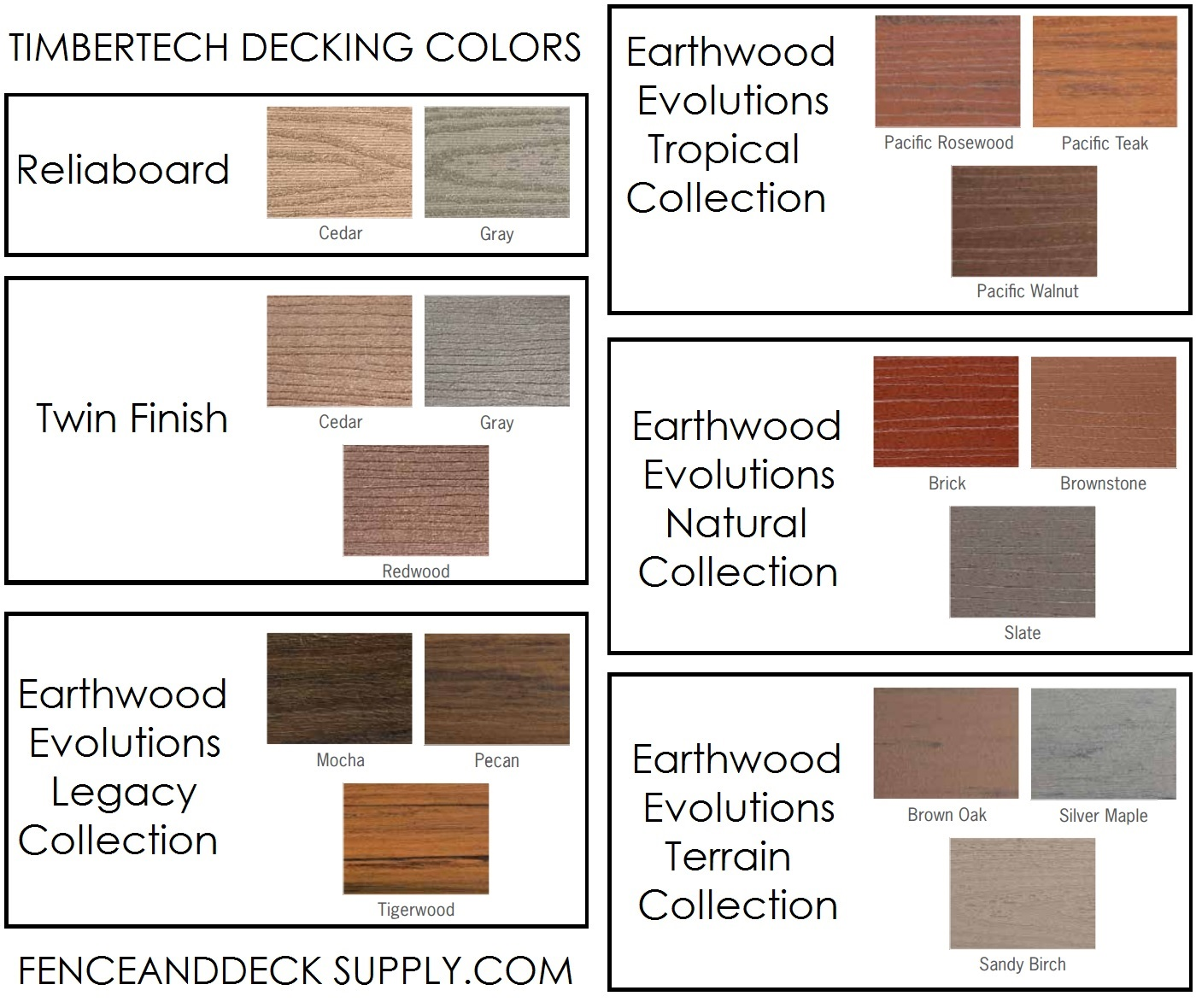 Timbertech Decking Colors Bing Images