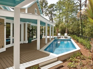 Trex Composite Decking - Pool Deck