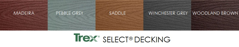 Trex Decking Select Colors