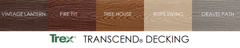 Trex Decking Transcend Colors
