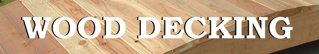 Wood Decking Pictures