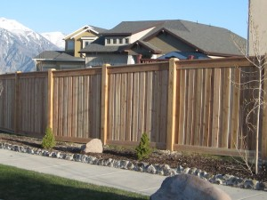 Wood Fence Materials