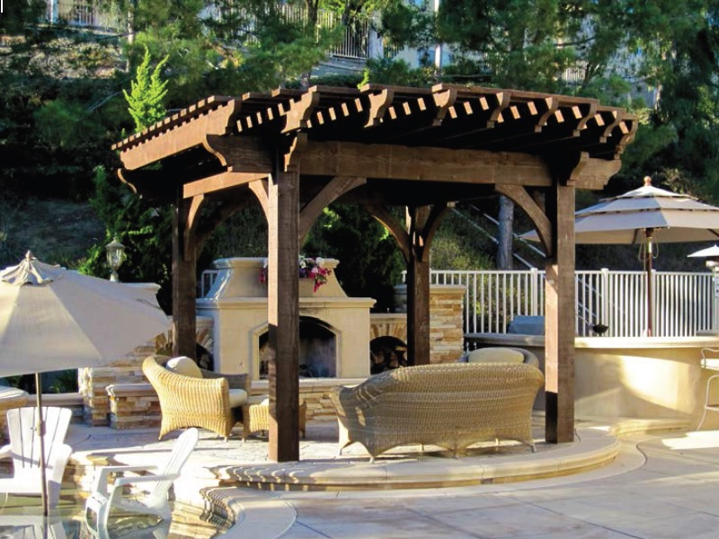 - Wood Pergola Kit Gallery