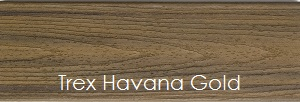 Havana Gold Decking Sample from Trex