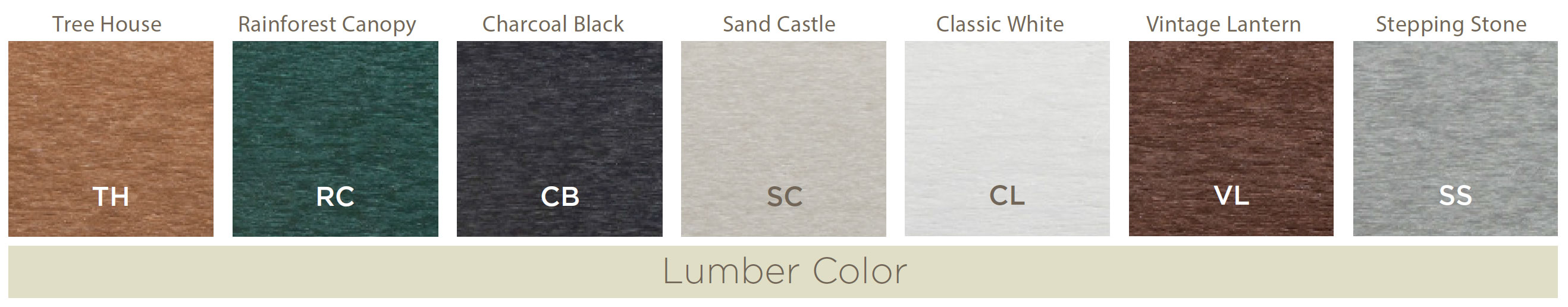 Cape Cod And Yacht Club Color Choices