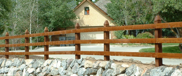Wood Ranch Rail Banner