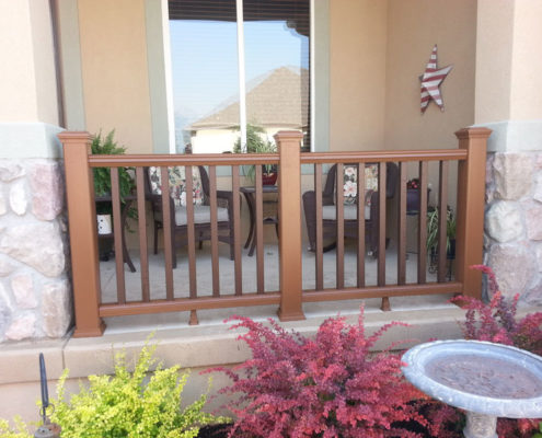 Trex Transcend Railing for the Front Porch