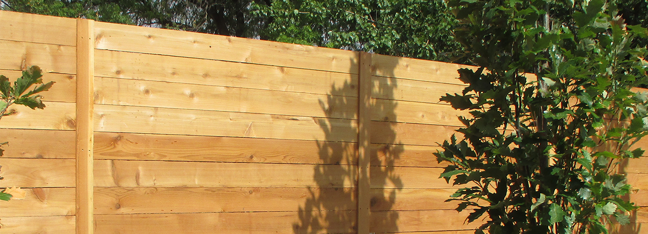 Horizontal Wood Fence Horizontal Cedar Wood Banner