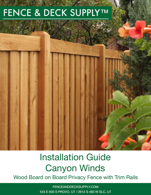 Installation Guide Canyon Winds