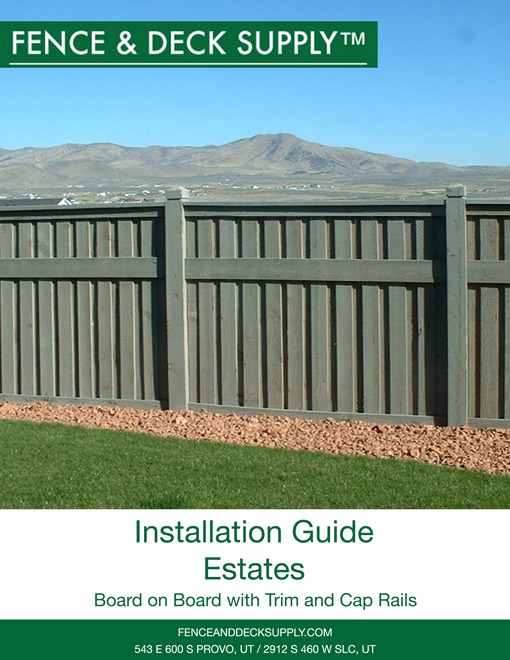 Installation Guide Estates
