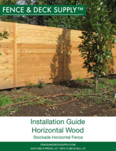 Installation Guide Horizontal Wood