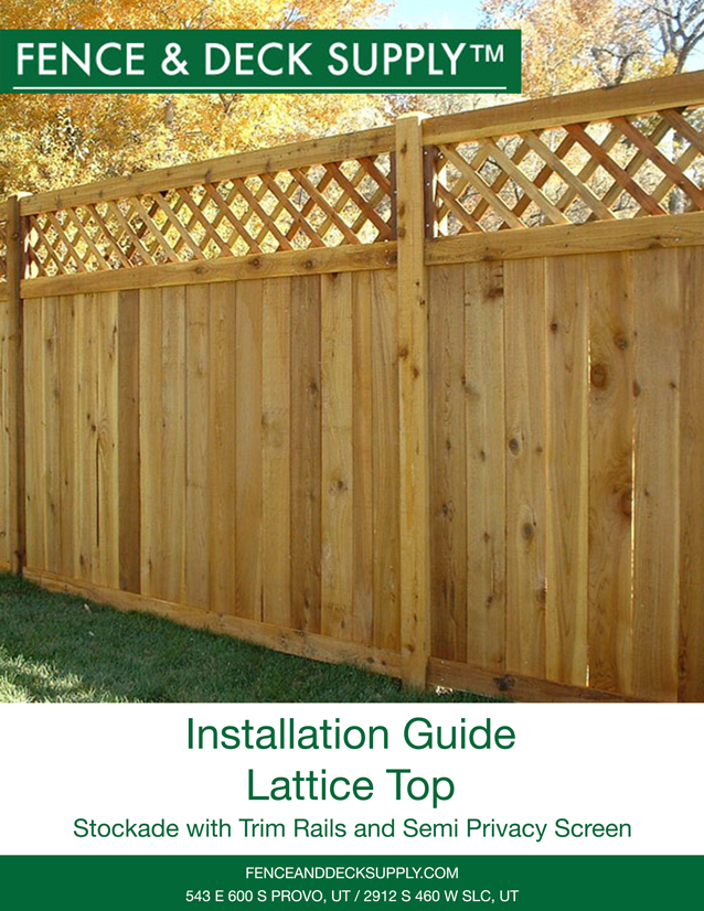 Lattice Top Installation Guide