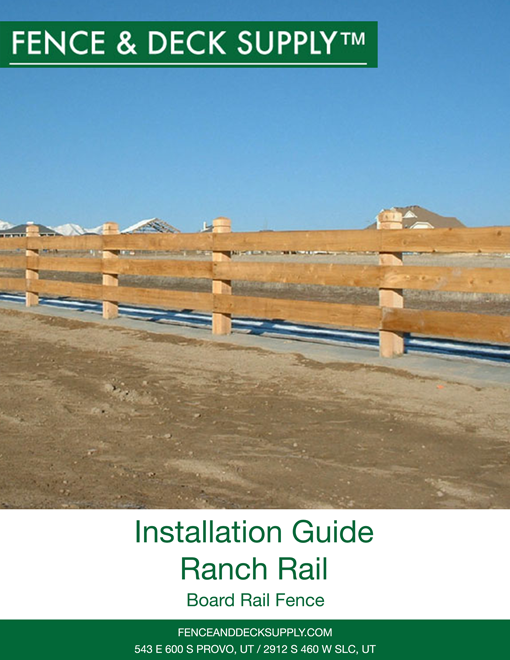 Installation Guide Ranch Rail