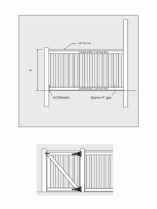 Plan Thumb 2x2 Picket Fence