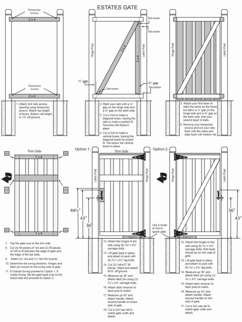 Horizontal wood fence plans prices more see related fence styles baanklon Choice Image