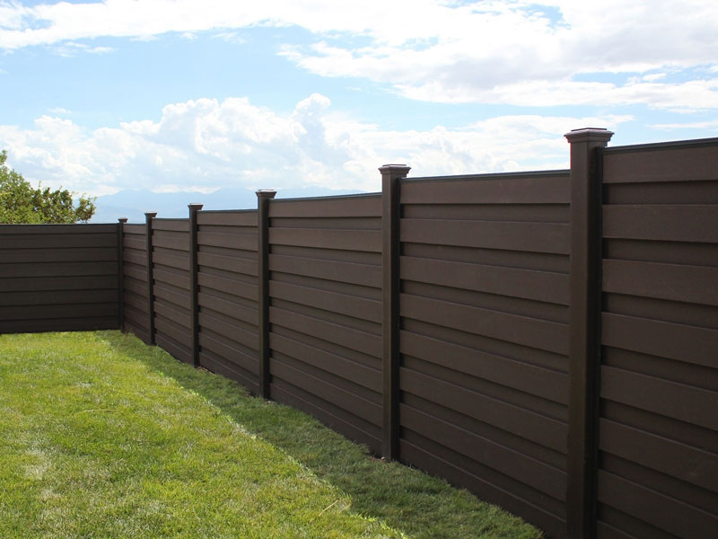 Trex Horizons Horizontal Privacy Fence Fence And Deck