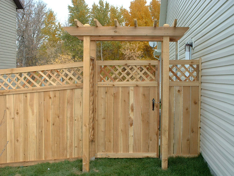 Lattice Top Privacy Fence Fence Amp Deck Supply