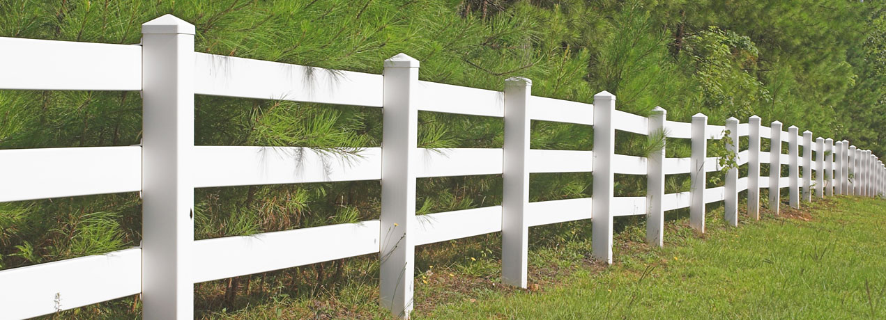 Vinyl Ranch Rail Banner