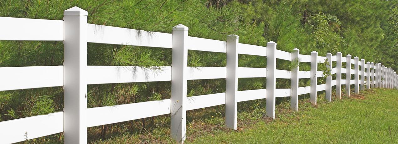 Vinyl Ranch Rail Banner