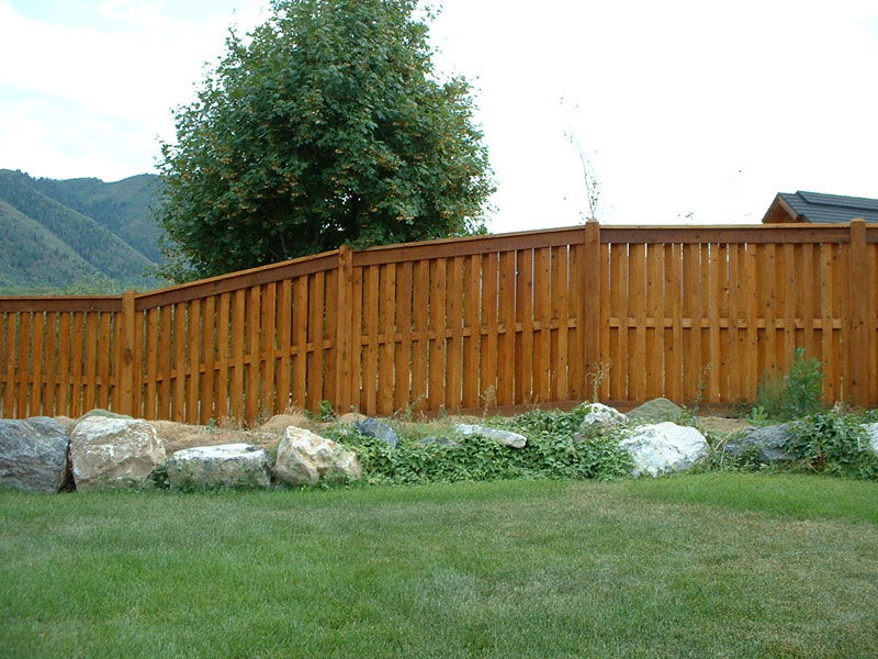 Wood fencing fence deck supply
