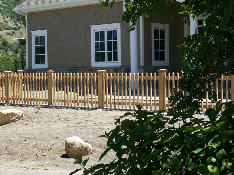 Wood Picket Fence Amp Deck Supply