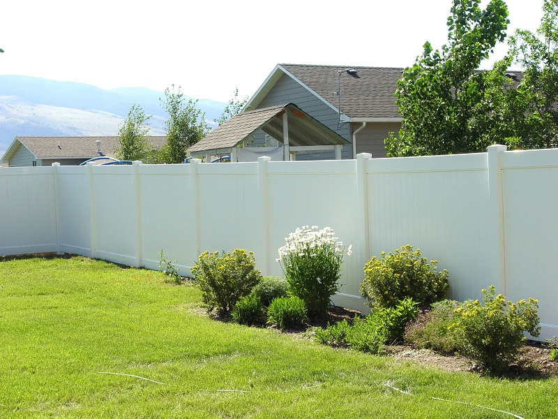 Vinyl Privacy White
