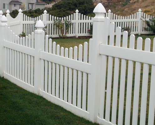 Vinyl Picket White