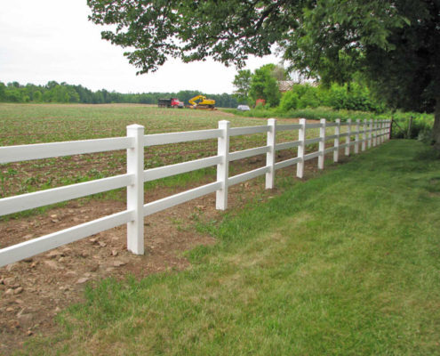Vinyl Ranch 3 Rail