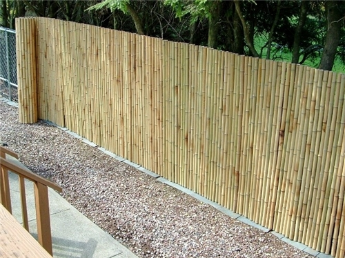 Bamboo Roll Cover for Fence