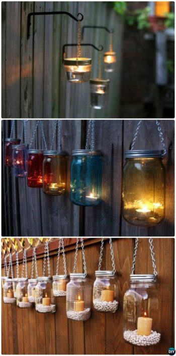Candle Fence Lights