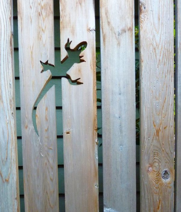 Lizard Cut-out