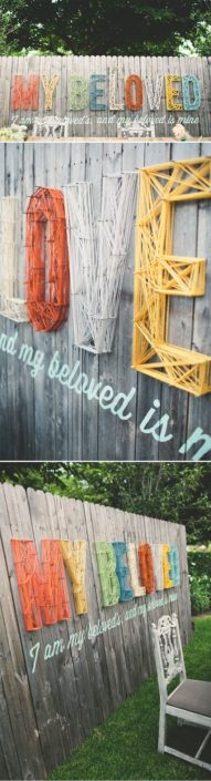 String Art Fence