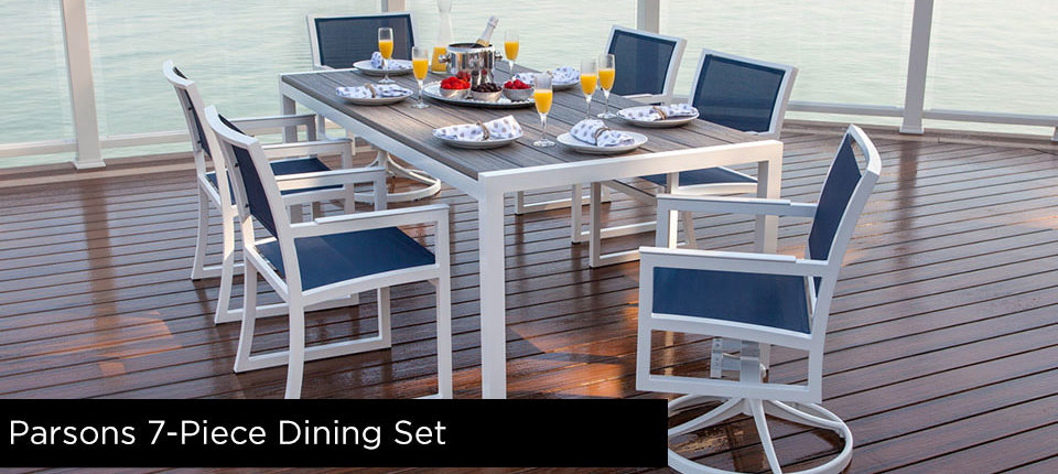 Parsons 7-Piece Dining Furniture Set