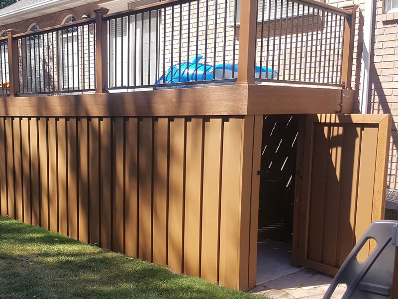 White Wood Fence Ideas