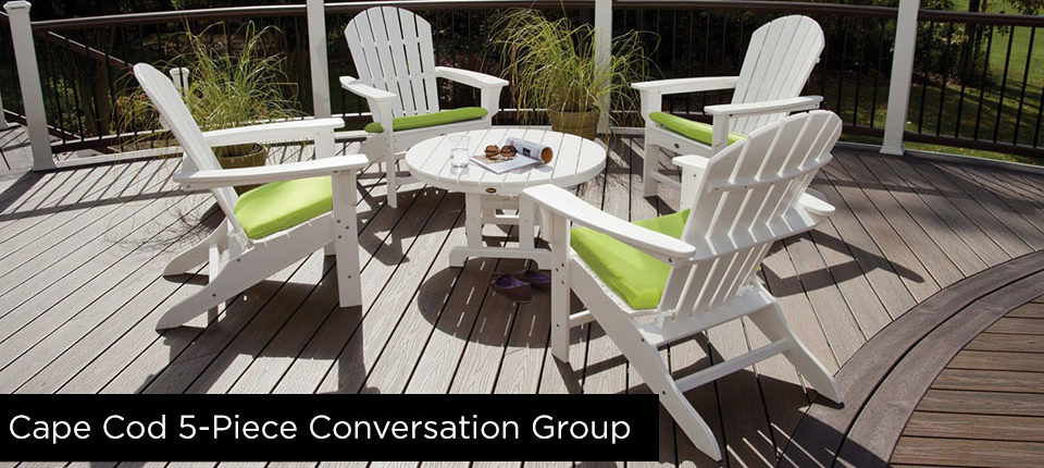 Cape Cod 5-Piece Conversation Group Furniture