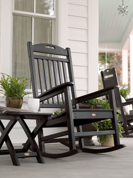 Trex Yacht Club Rocking Chair and Side Table