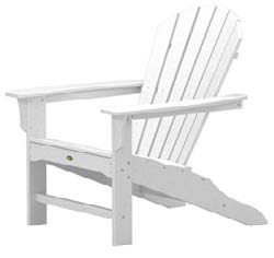 Trex Cape Cod Adirondack Chair in Classic White