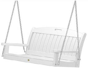 Trex Furniture Yacht Club Swing in Classic White