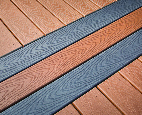 Trex Select Deck in Saddle and Winchester Grey