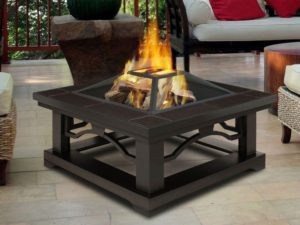Outdoor Metal Fire Pit